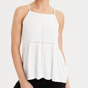 NWT AE SOFT & SEXY LACE TANK TOP